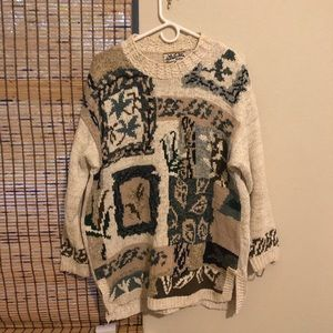 """Sweaters - Unique chunky """"ugly"""" knit sweater"""